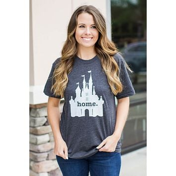 Home Tee - Disney Castle