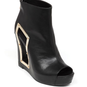 Bcbgeneration Nene Faux Leather Ankle Boots