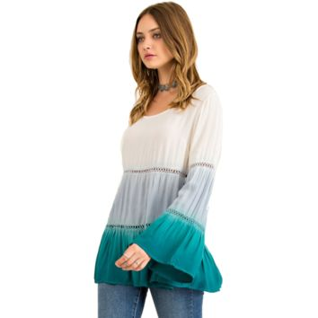 I'm Taken, Baby Doll Ombre Blouse