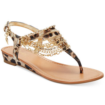 Thalia Sodi Women's Lizette Flat Sandals