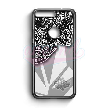 Volcom Inc Apparel And Clothing Stickerbomb Google Pixel Case | aneend.com