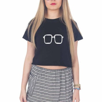 Breaking Bad Eyes For Womens Crop Shirt ***