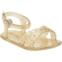 Old Navy Glittery Jelly Sandals For Baby