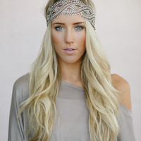 Braided Lace Headwrap