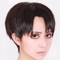 Attack on Titan Levi/Rivaille Short Brown Cosplay Wig + Free Wip Cap