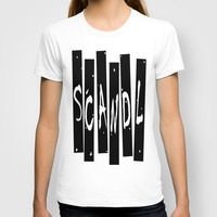 SCANDAL T-shirt by Robleedesigns