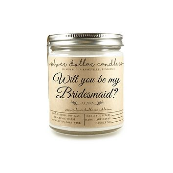 Bridesmaid Proposal - 8oz Soy Candle [V2]