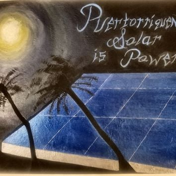 "Power to Puerto Rico Presents: ""Sleeping Solar Sunless Power"""