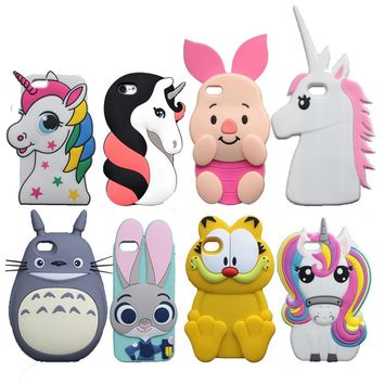 3D Animal Shape Phone Cases for iPhone