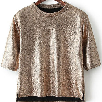Copper Half Sleeve Shirt