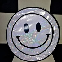 SWEET LORD O'MIGHTY! SMILEY HOLOGRAM BACKPACK