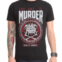 Thy Art Is Murder Reign Of Darkness T-Shirt