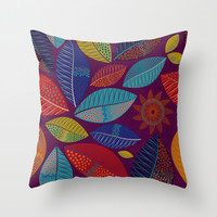 Summers of Africa Throw Pillow by Anny Cecilia Walter
