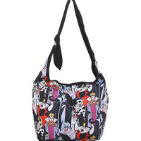 Loungefly Disney Villains Hobo Bag