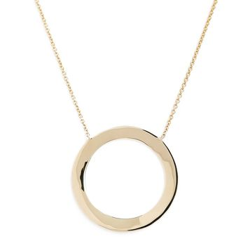 Bony Levy Geo Circle Pendant Necklace (Nordstrom Exclusive) | Nordstrom