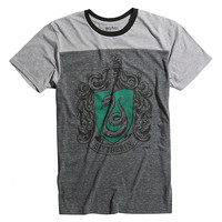 Harry Potter Slytherin Yoke T-Shirt