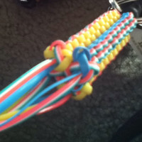 Boondoggle fluted key chain