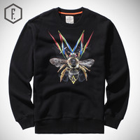 Print Long Sleeve Men's Fashion Winter Hoodies [8822206275]