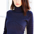 Glamorous Textured Cropped Turtleneck Sweater - Urban Outfitters
