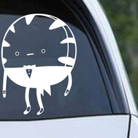 Adventure Time Peppermint Butler Die Cut Vinyl Decal Sticker