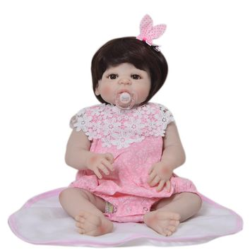 Silicone Baby - Reborn Full Body Doll - Baby Girl Doll