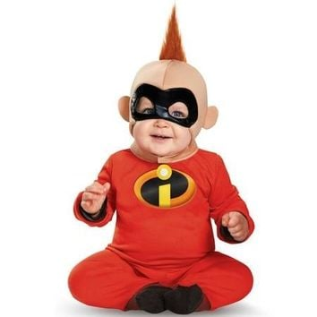 Cool Baby Jack Jack Costume Halloween Costume  Mr. Incredible 2 jumpsuit Costume adult toddllers CosplayAT_93_12