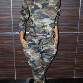 Fitted Glam Camo