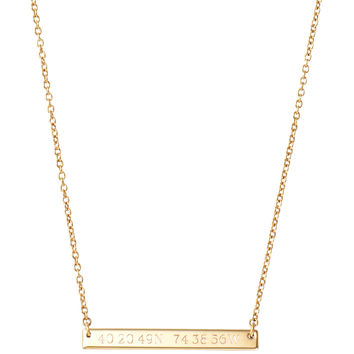 Signature Engravable Delicate Necklace
