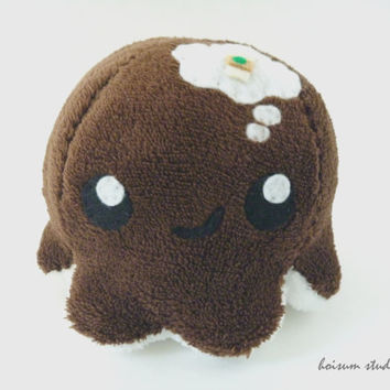 Octopus Plush - The Thoughtful Tako *I Need Coffee*