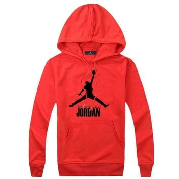 Jordan Women Men Fashion Casual Top Sweater Pullover Hoodie-13
