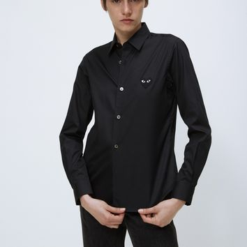 Totokaelo Black Heart Shirt - Comme des Garcons PLAY - Designers - Womens