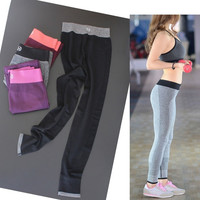 2015 Fashion Women Fitness Sports Yoga Gym Running Elastic Pants Summer Workout Slim Leggings 4 Colors = 1933184708