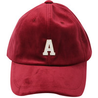 Letter Patch Cap