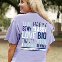 Jadelynn Brooke Live Happy Tee