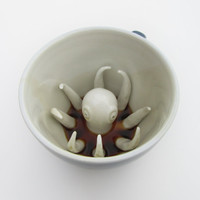 Octopus Creature Cup by creaturecups on Etsy