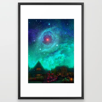 Happy Halloween! Framed Art Print by exobiology