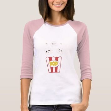 Cute Kawaii Popcorn T-Shirt