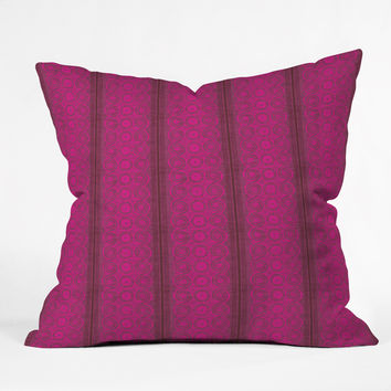 Caroline Okun Biskra Throw Pillow