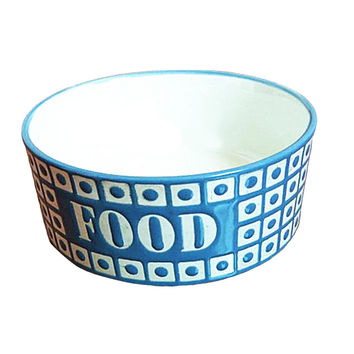Porcelain Pets Food Water Bowls Dogs Cats Bowls Pet Supplies Dog Accessories