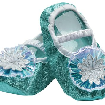 Frozen Elsa Toddler Slippers for Girls