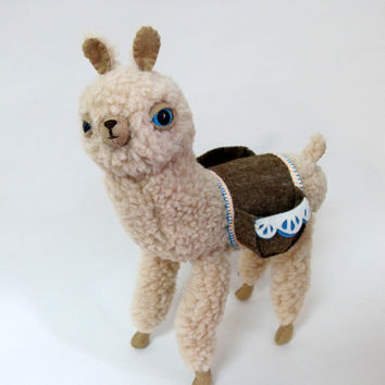 Cream Bobble Alpaca - Made to Order