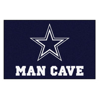 Dallas Cowboys NFL Man Cave Starter Floor Mat (20in x 30in)