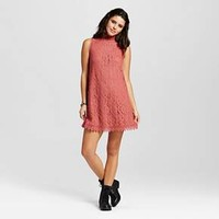 Women's Lace Mockneck Shift Dress - Xhilaration™ (Juniors')