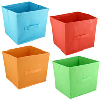 """Bulk Essentials """"Summer Fun"""" Collapsible Storage Containers, 11""""H at DollarTree.com"""