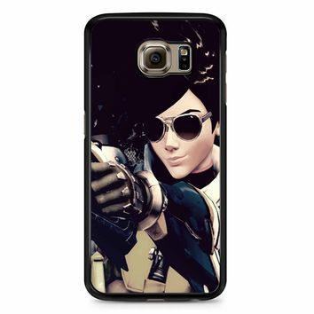 Overwatch Tracer Cool Samsung Galaxy S6 Edge Plus Case