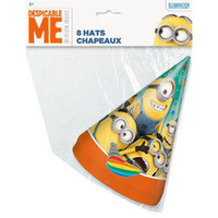 The Minions Party Hats [8 Per Package]