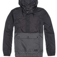 Tavik Adams Windbreaker Jacket - Mens Jacket - Black