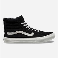 Vans Lizard Emboss Sk8-Hi Slim Zip Womens Shoes Black  In Sizes