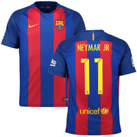 Neymar Jersey Barcelona 2016 2017 ( Sponsor Included)