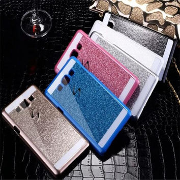 For Samsung Galaxy S3 S4 S5 S6 s7 Grand Prime case Glitter Diamond Rhinestone Bling Luxury Shinning back cover Sparkling coque